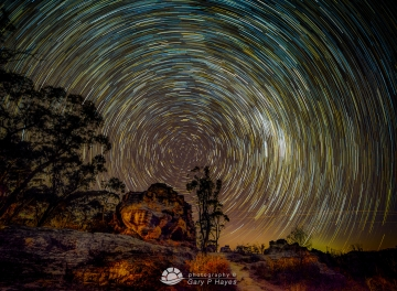 The Drift Star Trail
