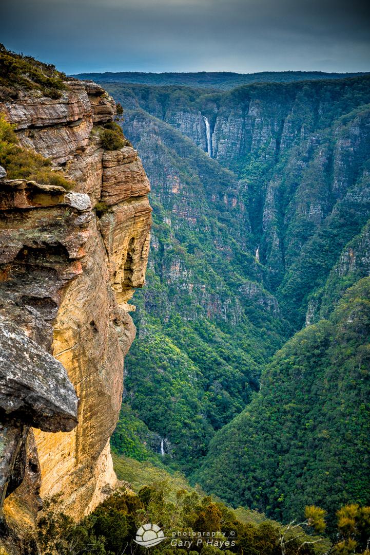 Kanangra Falls from Kanangra Walls