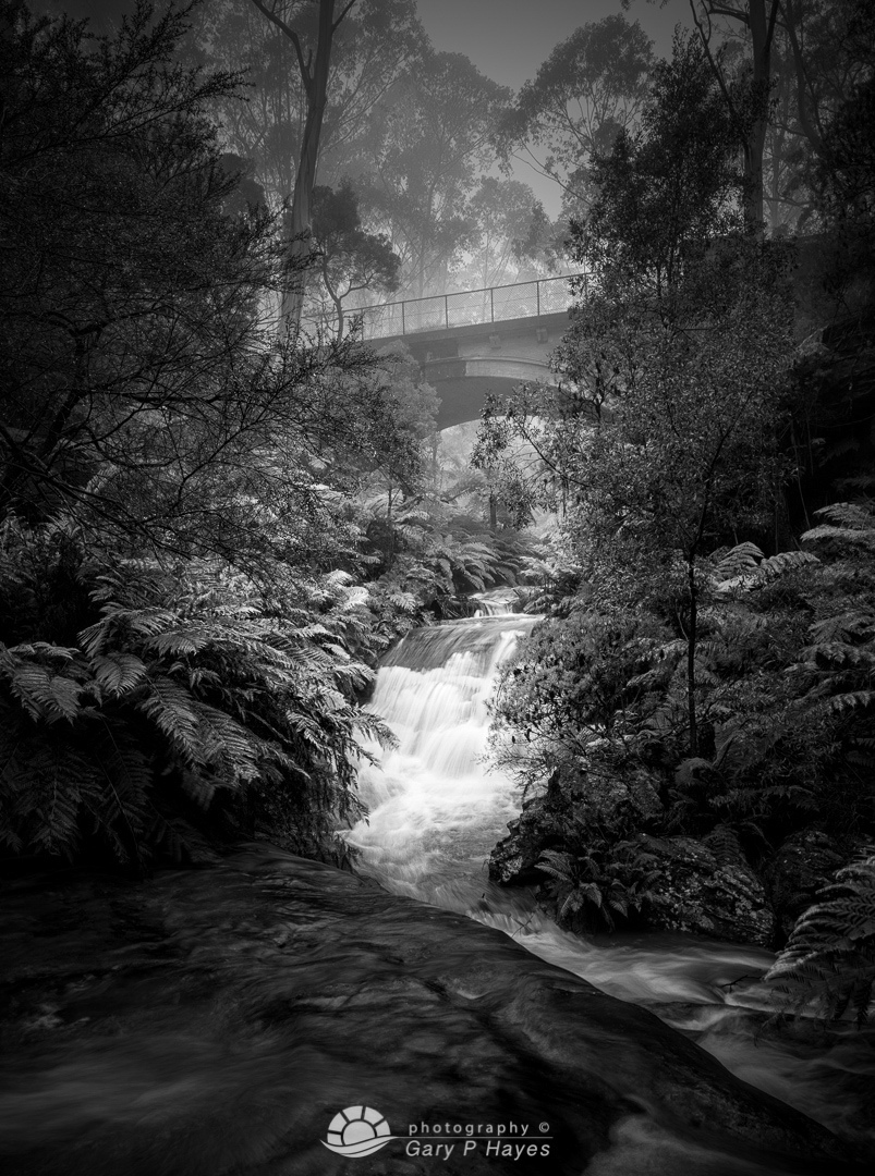 Leura Cascades Bridge