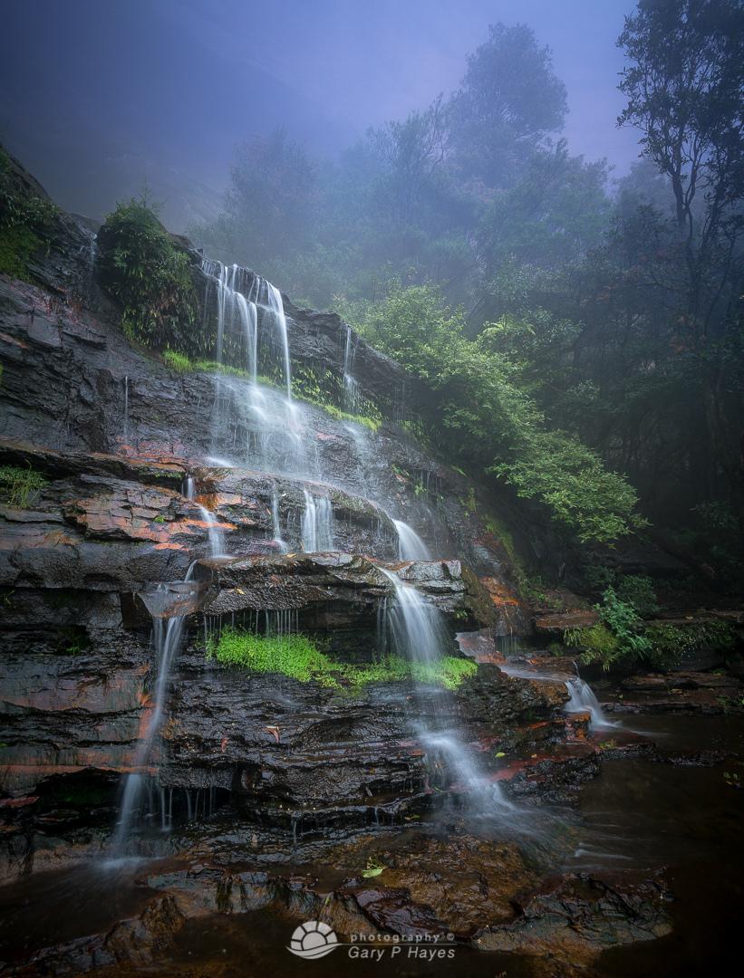 Misty Mid Katoomba Falls I