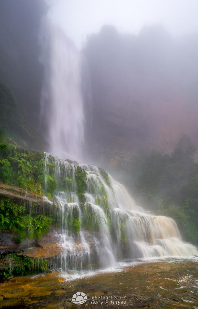 Misty Mid Katoomba Falls IV