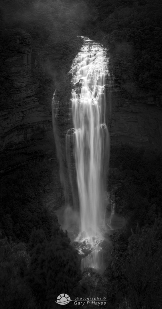 Wentworth Falls Vertical Panorama