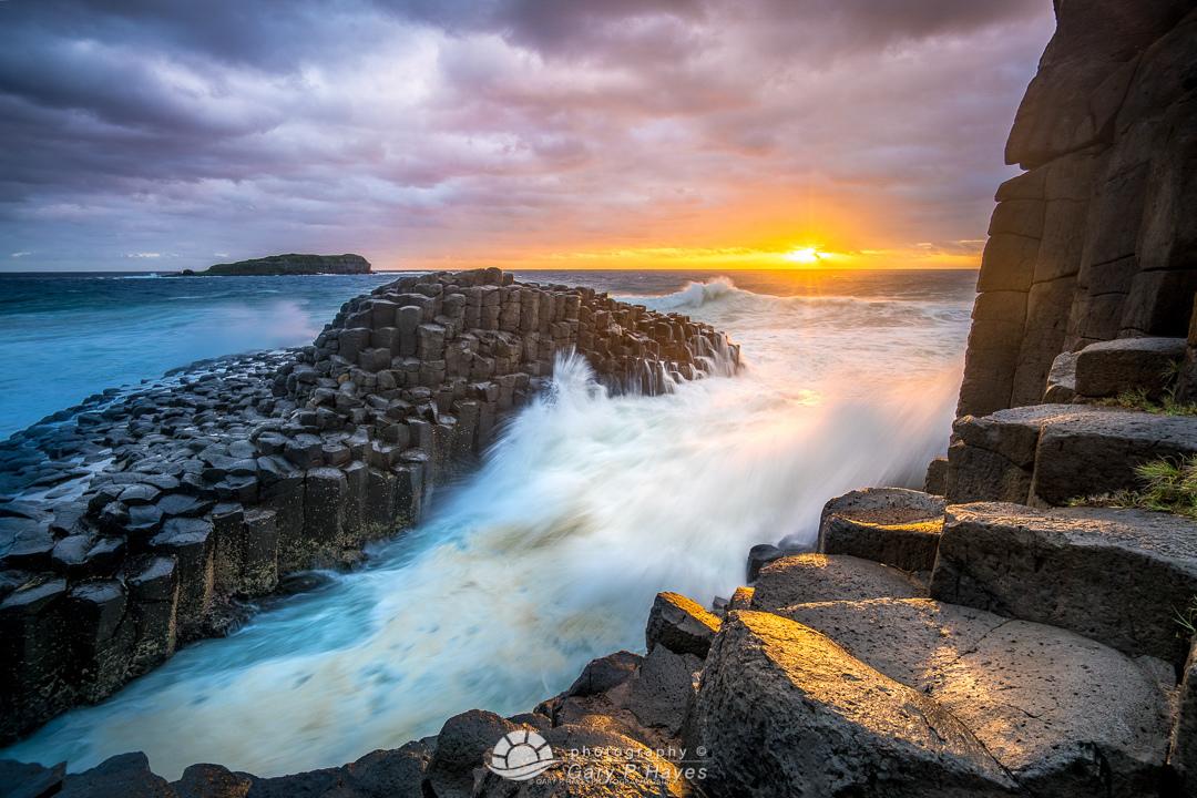 Fingal Rocks Sunrise