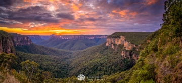 Grose Valley Dawn XXXVI-2
