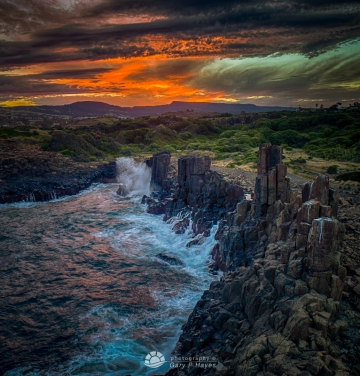 Bombo Quarry sunset