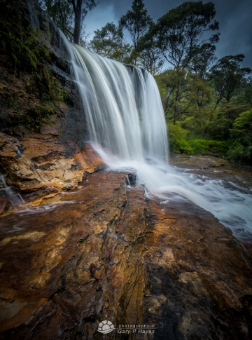Weeping Rock Wentworth Falls