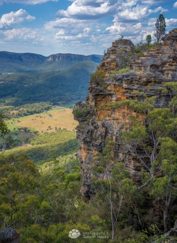 From Trail 8 Newnes Plateau