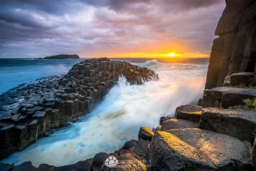 Fingal Rocks Sunrise