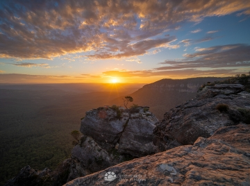 Boars Head Sunset Katoomba
