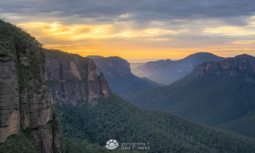 Grose Valley Dawn XXXIII