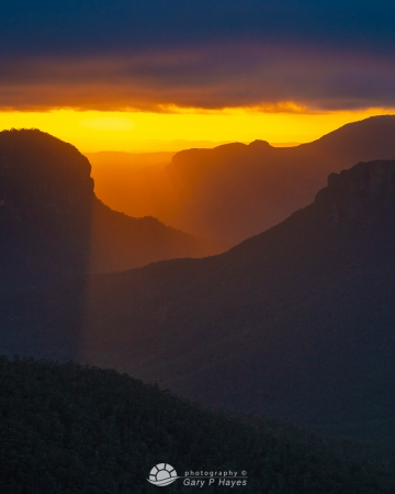 Warm Yellow Light, Grose Valley