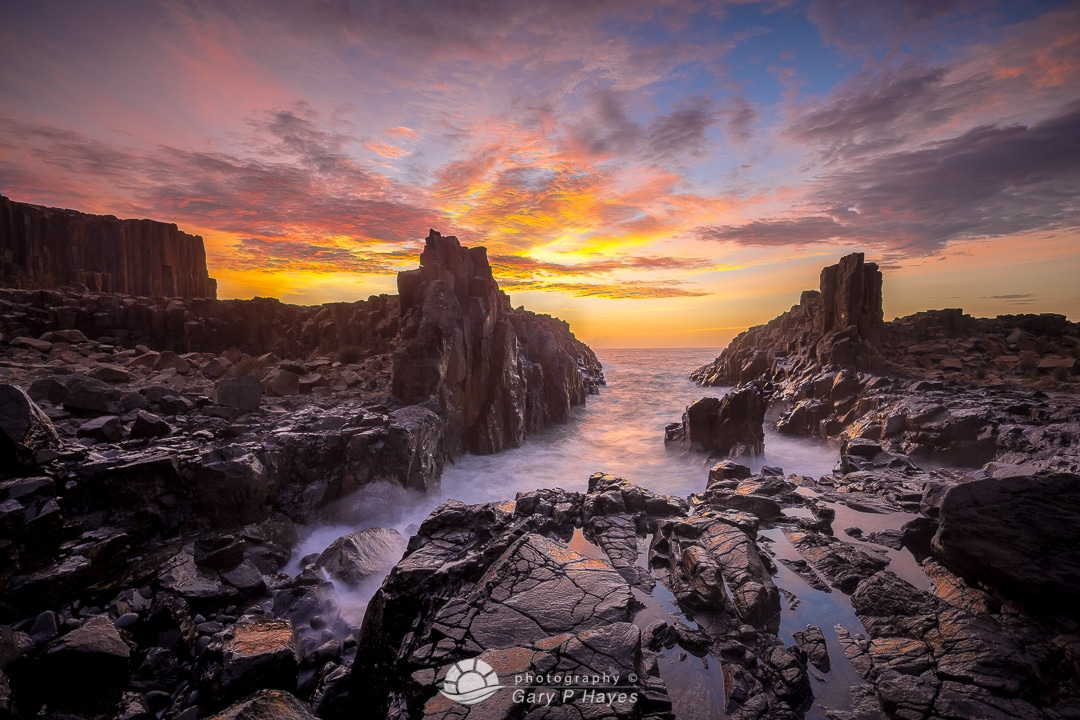 A Primal Coastal Dawn at Bombo Quarry Kiama